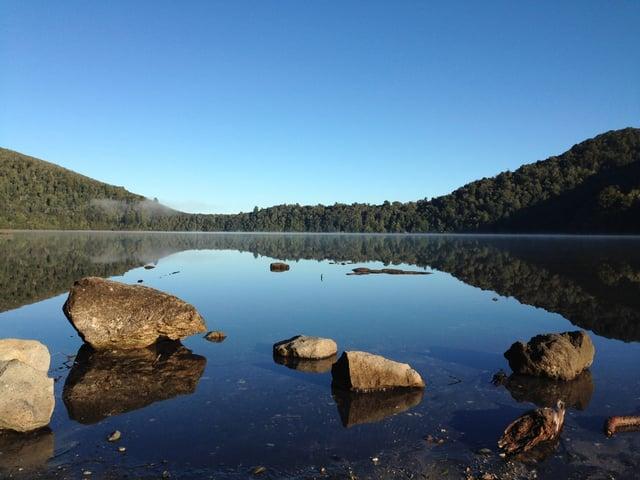 Lake Rotopounamu Discovery Tongariro
