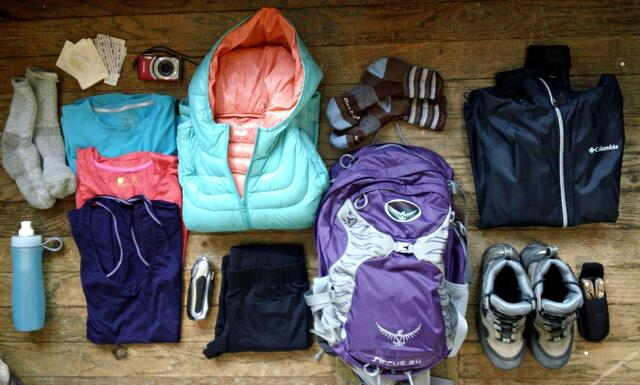 Tongariro Alpine Crossing Gear List